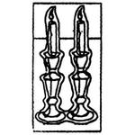 Lg Candlesticks 619
