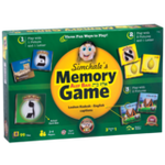 "Alef Bais memory card game - LOSHON-KODESH / ENGLISH captions & beautiful pictures (99 Cards, 2.25"" x 2.25"") M-ENG-LK"