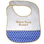 Who's Your Rabbi? Baby Bib 101WR