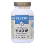 Freeda Vitamins - Hi-Veg-Lip - Kosher Digestive Formula - 100 Tablets FV-4036-01