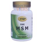 Freeda Vitamins - FNP - MSM 1000 mg - 100 Tablets FV-4056-01