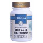 Freeda Vitamins - Daily Value Multivitamin - No Minerals - 100 Tablets FV-4087-01