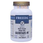 Freeda Vitamins - Quintabs-M No Iron - Multivitamin & Mineral - 250 Tablets FV-4093-02
