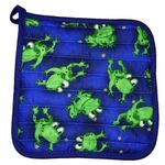 Fun Frogs Potholder 455BF