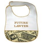 Future Lawyer Baby Bib 101FL