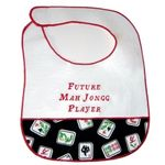 Future Mah Jongg Player Baby Bib 101FMJ