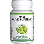 Maxi Health - Maxi Olive Supreme - Kosher Immune Support - 60 Capsules MH-3006-01