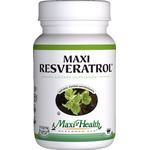 Maxi Health - Maxi Resveratrol - Kosher Heart & Calming Formula - 60 Capsules MH-3007-01