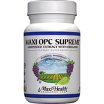 Maxi Health - Maxi OPC Supreme - Kosher Grapeseed Extract With Oregano - 60 Capsules MH-3008-01