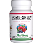 Maxi Health - Pome Green - Kosher Pomegranate, Green Tea & Blueberry - 60 Capsules MH-3009-01