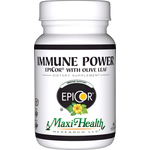Maxi Health - Immune Power - Kosher EpiCor With Olive Leaf Extract - 60 Capsules MH-3013-01