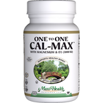 Maxi Health - One To One Cal-Max - Kosher Calcium, Magnesium & D3 - 120 Tablets MH-3025-01