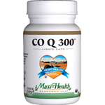 Maxi Health - Co Q 300 mg - 60 Liquid Capsules MH-3027-01