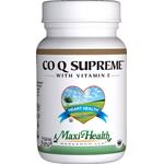 Maxi Health - Co Q Supreme 100 mg With Vitamin E 100 IU - 60 Capsules MH-3030-01