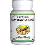 Maxi Health - Premium Enzymax Complex - Super Strength Kosher Digestive Formula - 60 Capsules MH-3040-01