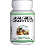 Maxi Health - Maxi Green Concentrate - Kosher Energy Formula - 180 Capsules MH-3063-01