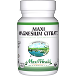 Maxi Health - Maxi Magnesium Citrate Tablets 400 mg - 90 Tablets MH-3071-01