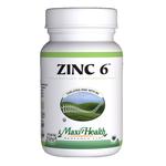 Maxi Health - Zinc 6 - 60 Capsules MH-3079-01