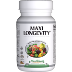 Maxi Health - Maxi Longevity for Women - Kosher Multivitamin & Mineral - 60 Capsules MH-3083-01