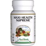 Maxi Health - Maxi Health Supreme - High Strength Kosher Multivitamin & Mineral - 60 Tablets MH-3084-01