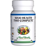 Maxi Health - Maxi Health Two Complete With Iron - Kosher Multivitamin & Mineral - 60 Capsules MH-3085-01