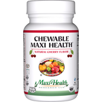 Maxi Health - Chewable Maxi Health - Kosher Multivitamin & Mineral - Cherry Flavor - 180 Chewables MH-3091-02