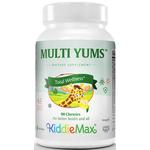 Maxi Health - KiddieMax - Multi Yums - Kosher Multivitamin & Mineral for Children - Fruit Punch Flavor - 90 Chewables MH-3092-03