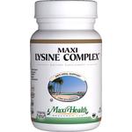 Maxi Health - Maxi Lysine Complex With Kosher Probiotics - 60 Capsules MH-3105-01