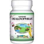 Maxi Health - KiddieMax - Yummie Oraldophilus - Children's Kosher Acidophilus - Tropical Flavor - 50 Chewables MH-3108-01