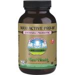 Maxi Health - Maxi Active Pro-10 - Kosher Probiotic 10 Billion CFUs - Fruity Flavor - 60 Chewables MH-3112-01