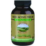 Maxi Health - Maxi Active Pro-50 - Kosher Probiotic 50 Billion CFUs - 30 Capsules MH-3114-01