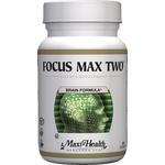 Maxi Health - Focus Max Two - Kosher Focus & Memory Formula For Seniors - 60 Capsules MH-3119-01