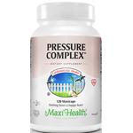 Maxi Health - Maxi Pressure Complex - Kosher Blood Pressure Formula - 120 Capsules MH-3125-01