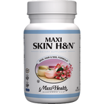 Maxi Health - Maxi Skin H&N Support - Kosher Probiotic 250 Million CFUs - 120 Capsules MH-3126-02