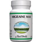 Maxi Health - Migraine Max - Kosher Natural Headache Reliever - 120 Capsules MH-3127-01