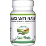 Maxi Health - Maxi Anti-Flame - Kosher Curcumin, Boswellia, Bromelain & MSM - 60 Capsules MH-3142-01