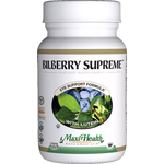 Maxi Health - Bilberry Supreme - Kosher Eye Formula - 120 Capsules MH-3204-02