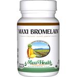 Maxi Health - Maxi Bromelain - Kosher Digestive Formula - 60 Capsules MH-3228-01