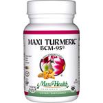 Maxi Health - Maxi Turmeric BCM-95 - Kosher Curcumin 500 mg - 60 Capsules MH-3229-01