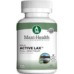 Maxi Health - Maxi Active Lax - Kosher Laxative Formula - 120 Capsules MH-3232-01