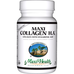 Maxi Health - Maxi Collagen H.A. - Kosher Joint & Skin Formula With Hyaluronic Acid - 120 Capsules MH-3242-01
