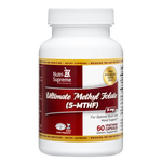 Nutri Supreme - Ultimate Methyl Folate (5-MTHF) 5 mg - 90 Capsules NS-6002-02