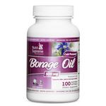 Nutri Supreme - Borage Oil 1000 mg - 100 Softgels NS-6031-01