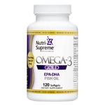 Nutri Supreme - Omega-3 Gold - EPA/DHA - 120 Softgels NS-6052-01