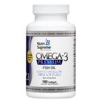 Nutri Supreme - Omega-3 Premium - Mini Softgels - Orange Flavor - 180 Softgels NS-6053-01