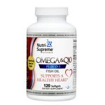 Nutri Supreme - Omega-3 Plus CoQ10 & Vitamin D - 120 Softgels NS-6057-01