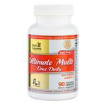 Nutri Supreme - Ultimate Multi Once Daily with 5 MTHF & P-5-P - 90 Capsules NS-6097-01