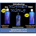 The Kosher Kurls Trio - Sale KKTRI