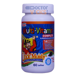 Uncle Moishy Vitamins - Multivitamin & Mineral Complete No Iron - Assorted Flavors - 120 Jellies UM-7001-02