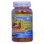 Uncle Moishy Vitamins - Omega-3 DHA Gummies - Fruity Flavor - 90 Gummies UM-7010-01